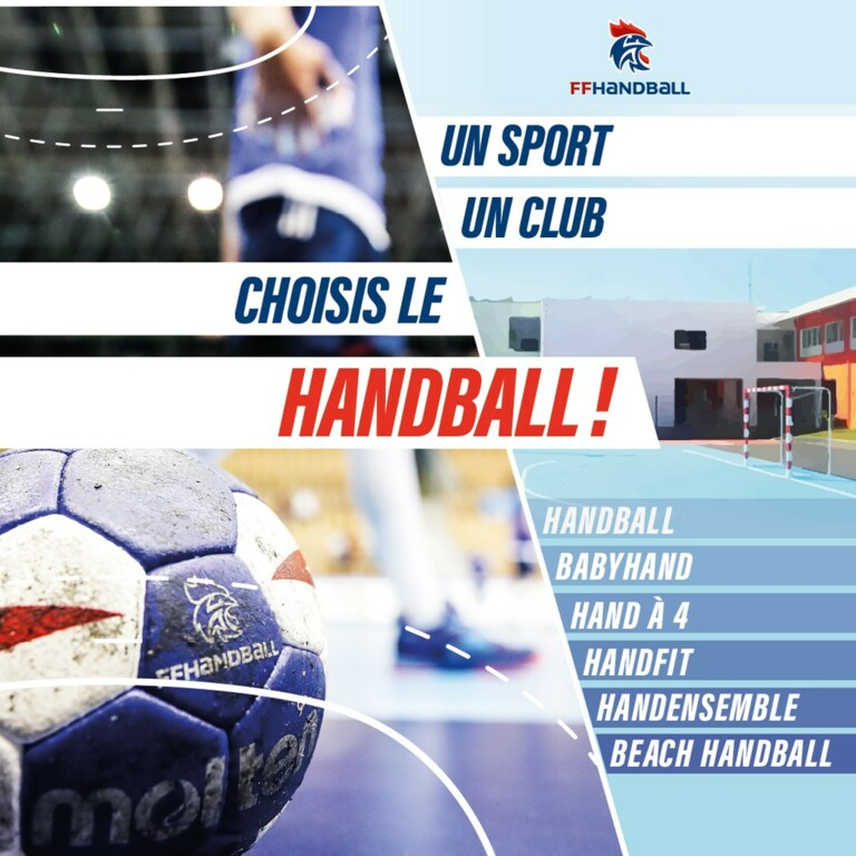 Un sport, un club, choisis le Handball !